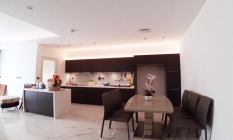 Amazing Kitchen Two Bedroom Sarina Apartment in Thu Thiem District 2 HCM City