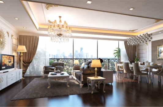 Leman Luxury Apartment For Rent in District 3 HCM City