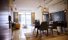 Luxury Designed Three Bedroom Apartment Vinhomes Central Park For Lease in HCM
