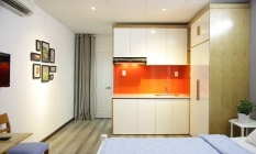 Cute Studio Apartment For Lease in Co Bac Street District 1 Ho Chi Minh City