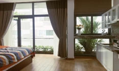 Studio Serviced Apartment Garden Building in Cao Thang District 3 Ho Chi Minh City