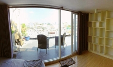 Stunning Studio Apartment On Top Floor For Lease in District 3 HCM City
