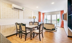 Fresh Light One Bedroom Emerald Serviced Apartment in District 3 Saigon