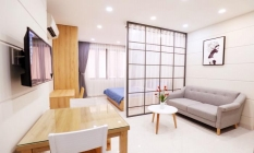 Good Looking Studio Serviced Apartment in Le Van Sy District 3 Ho Chi Minh City
