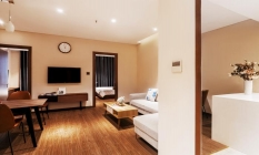 Family Suite Two Bedroom Apartment in DHTS Serviced Apartment Phu Nhuan District HCMC
