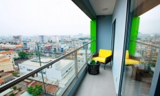 Amazing Balcony One Bedroom Republic Plaza Apartment For in Tan Binh District HCMC