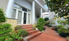 Partly Furnished Four Bedroom Villa For Rent in Nguyen Van Huong Thao Dien District 2 HCMC