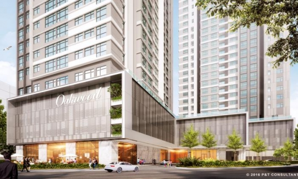 Oakwood Residence Saigon in District 7 Ho Chi Minh City