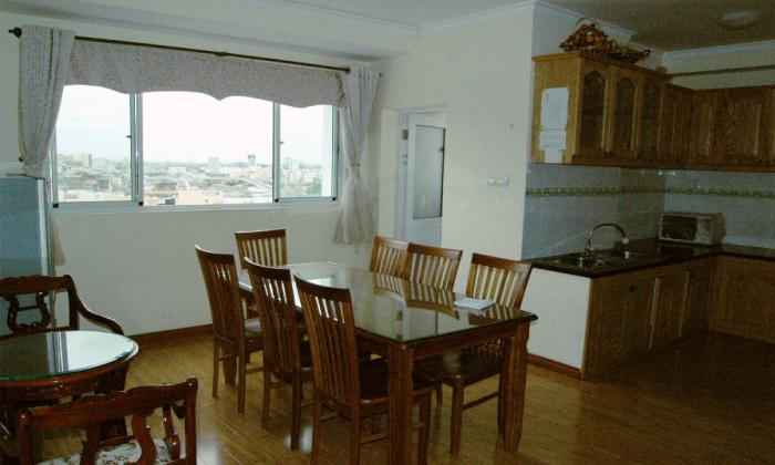 Nice Two Bedrooms Central Garden Apartment For Lease, Dist 1, HCMC