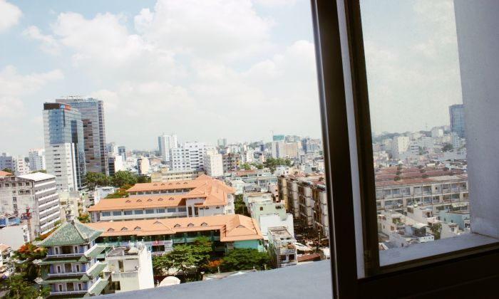 Central Garden Apartment For Rent Full Furnished, District 1, HCMC