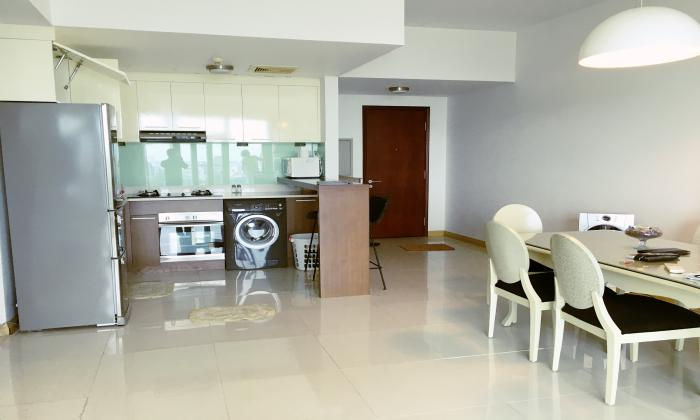 Luxury Interior Two Bedroom Apartment in Sailing Tower District 1 HCM City