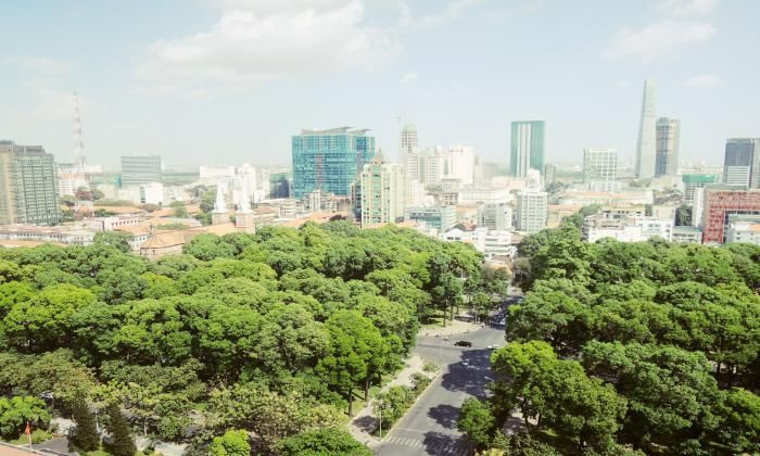 Spectacular View Apartment For Rent In Sailing Tower, District 1, HCMC