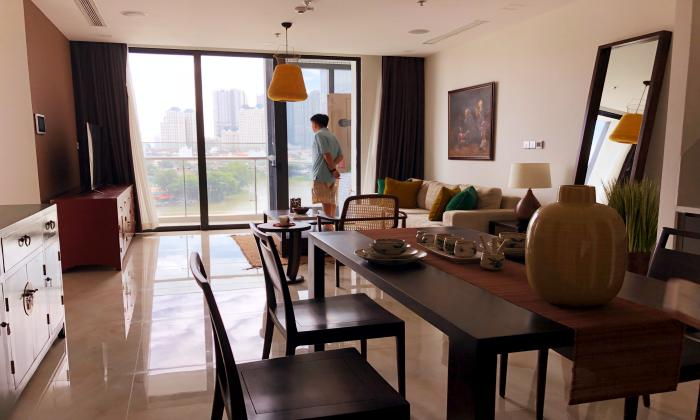 Amazing View Two Bedroom Apartment For Lease in Vinhomes Golden River HCMC