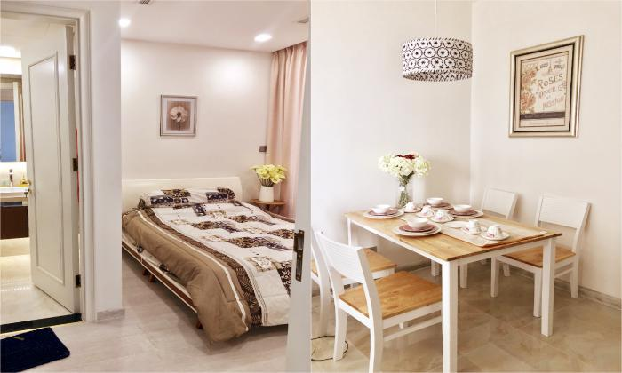 Two Bedroom Vinhomes Bason Apartment For Rent in District 1 HCMC