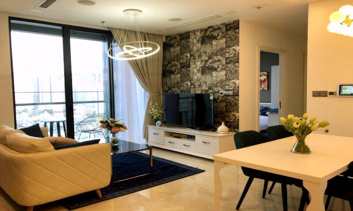 Luxurious Two Bedroom Vinhomes Golden River Apartment For Rent in District 1 HCMC