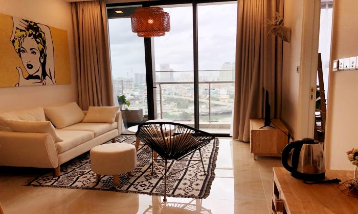 Brand New Two Bedroom Vinhomes Bason Apartment For Lease in District 1 HCMC