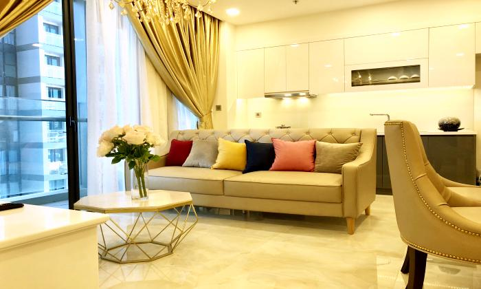 Nice Furniturre Two Bedroom Vinhomes Goden River For Rent in District 1 HCMC