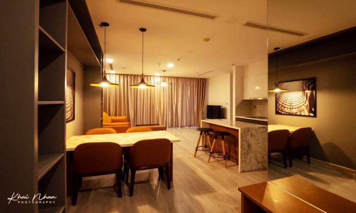 A Great Design Two Bedroom Apartment For Rent in Vinhome Golden River District 1 HCMC