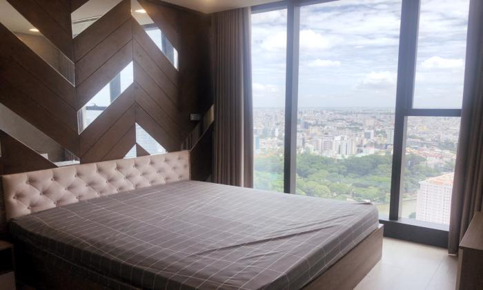 Nice View From Bedroom Apartment For Rent in Vinhomes Bason District 1 Ho Chi Minh City