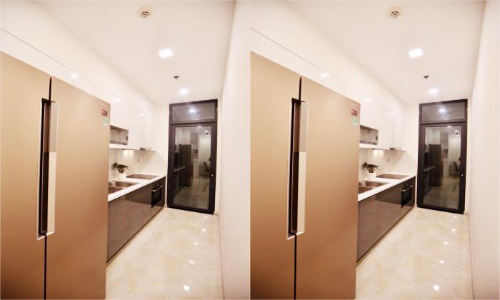 Modern and Separate Kitchen Two Bedroom Vinhomes Bason Apartment District 1 HCMC