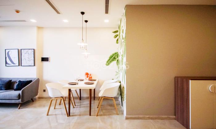 Very Nice Interior Two Bedroom Vinhomes Bason Apartment For Rent in District 1 HCMC
