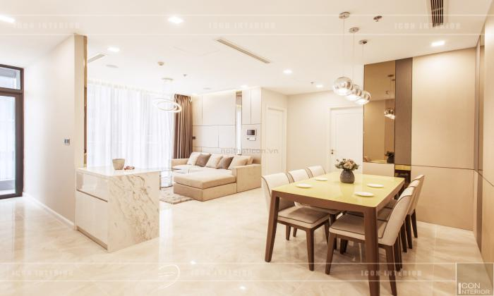 Very Modern Three Bedroom Apartment For Rent in District 1 Ho Chi Minh City