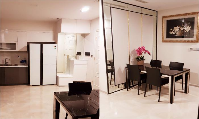 Bitexco View Two Bedroom Apartment in Golden River District 1 HCMC
