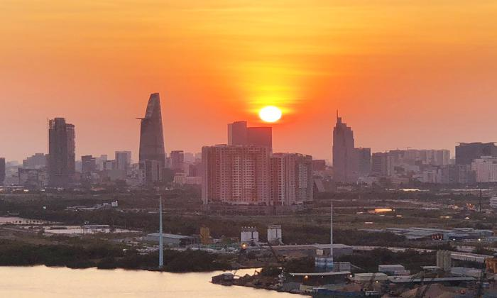 Stunning Fire Works View Two Bedroom Apartment For Rent Diamond Island District 2 HCMC