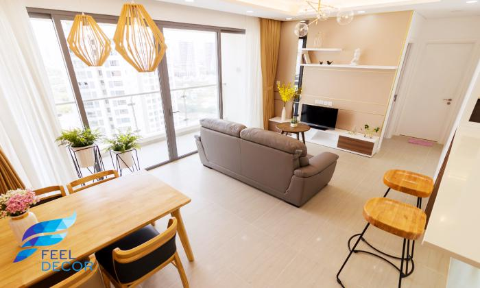 Brilliant Decoration Two Bedroom Diamond Island Apartment For Rent in District 2 HCMC