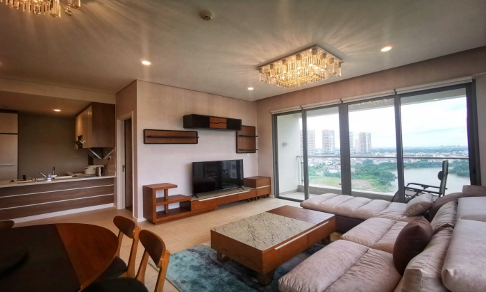 Japanese Style Three Bedroom Apartment For Rent in Diamond Island District 2 HCMC