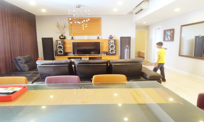 Big Size and Nice Interior Three Bedroom Apartment in Estella District 2 HCMC