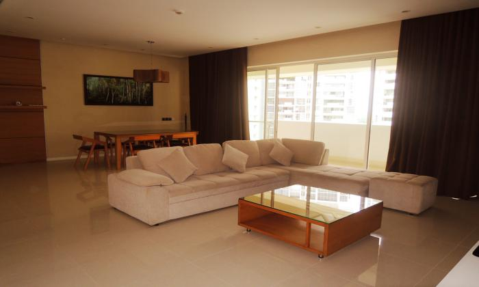 Simple Designed Three Bedroom Apartment in Estella District 2 Ho Chi Minh City