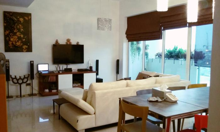 Luxury Interior Two Bedrooms Estella Apartment District 2 HCMC