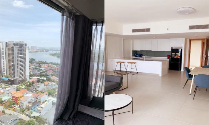 Amazing View and Designed Two Bedroom Apartment For Rent in Gateway District 2 HCMC