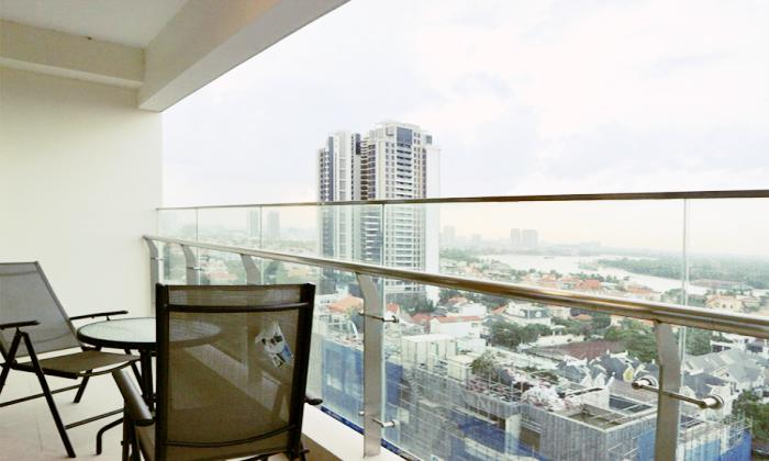 Nice Interior Three Bedroom Gateway Thao Dien Apartment For Rent in District 2 HCMC