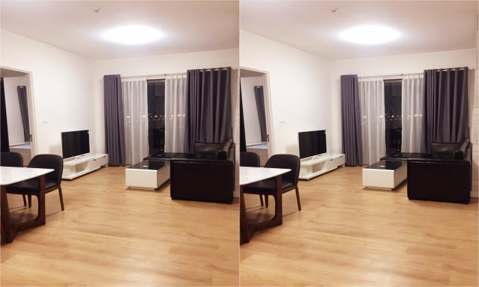 Normal Furniture Two Bedroom For Lease in Gateway in Thao Dien District 2 HCMC