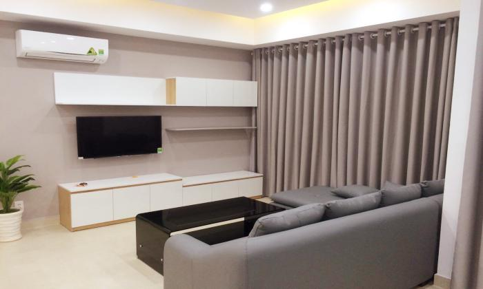 High Floor Two Bedroom Masteri Aartment For Lease Thao Dien District 2 HCMC