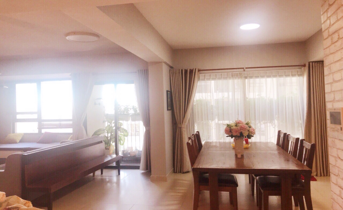 Big Size Three Bedroom Apartment For Rent in Thao Dien District 2 HCMC