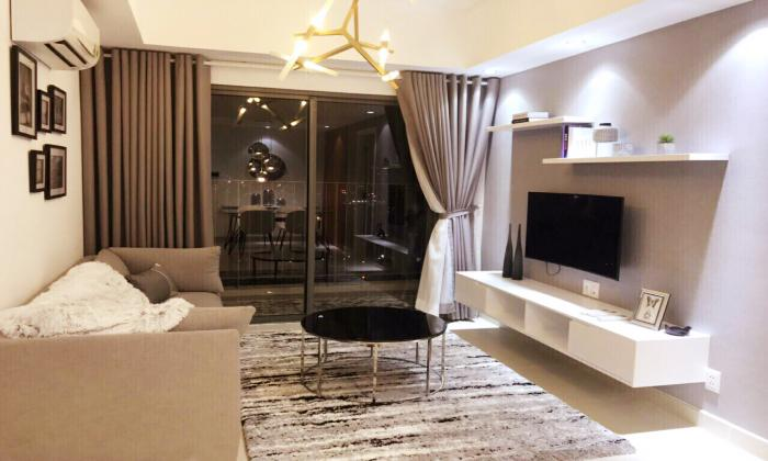 Luxury Decoration Two Bedroom Apartment For Rent in Masteri District HCM City