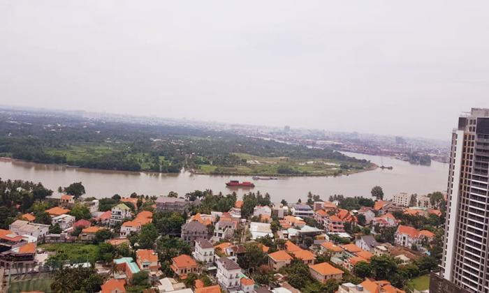Stunning River View Two Bedroom Materi Apartment For Lease in Thao Dien District 2 HCMC