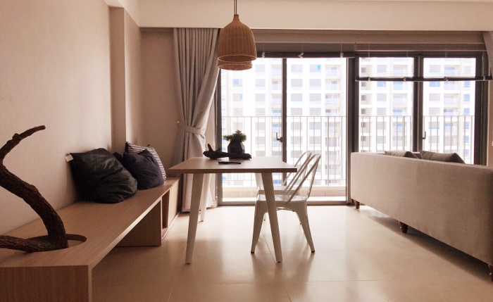 Stunning Designed Two Bedroom Apartment For Rent in Thao Dien District 2 HCMC