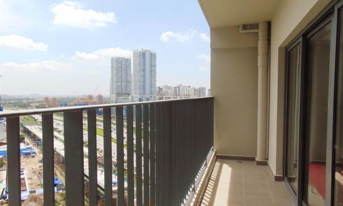 Brand New Three Bedroom Apartment For Lease in Masteri District 2 HCMC