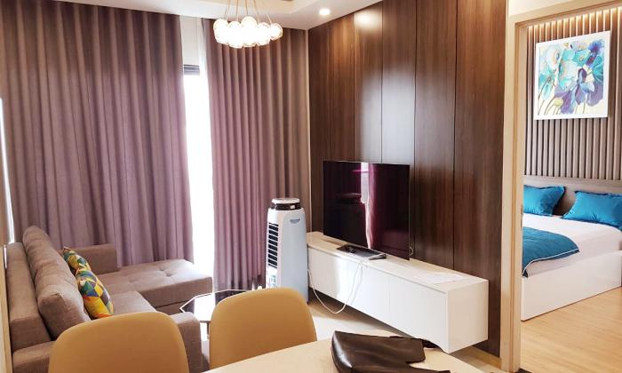 Fully Furnished Two Bedroom New City Thu Thiem Apartment For Rent in District 2 HCMC