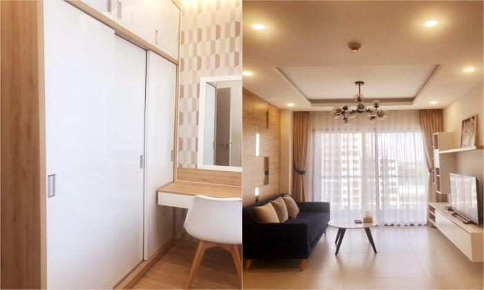 Modern Kitchen Three Bedroom Apartment in New City Thu Thiem District 2 HCM City