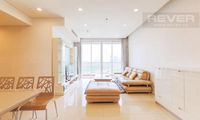 Bright Light Two Bedrooms Apartment For Rent in Sadora District 2 Ho Chi Minh city