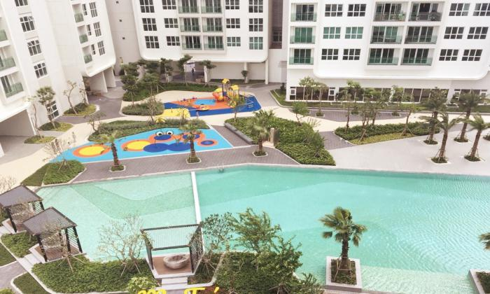 Pool View Two Bedroom Apartment For Lease in Sadora District 2 HCMC