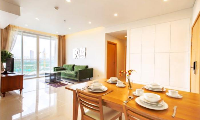 Really Modern Two Bedroom Apartment For Lease in Sarimi Apartment District 2 HCMC