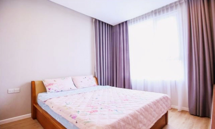 Simple Designed Two Bedroom Apartment For Rent in Sala District 2 HCM City