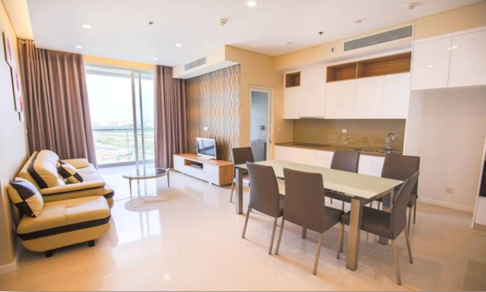 Nice View Apartment For Rent in Sala District 2 Ho Chi Minh City
