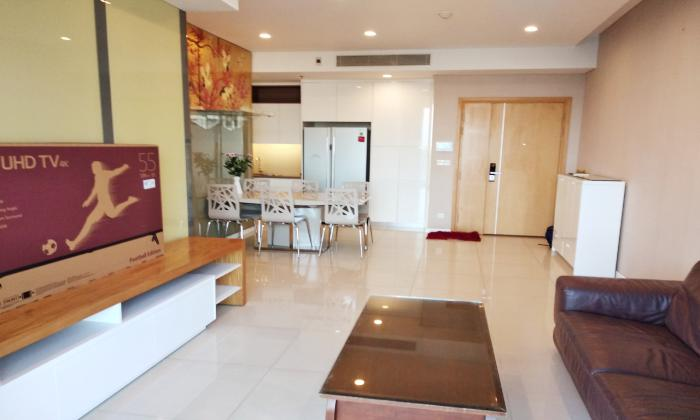 Big Size And Nice Furniture Three Bedroom  Sarimi Apartment For Rent in District 2 HCMC